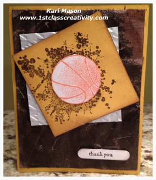 Are You Struggling with Masculine DIY Card Ideas?  visit www.1stclasscreativity.com