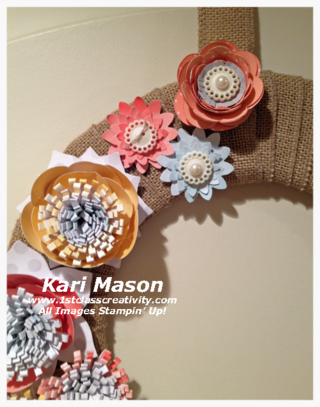Is Creating Your Own DIY Wreath out of your Comfort Zone?  If so read on! - visit www.1stclasscreativity.com