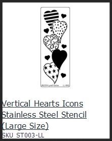 Vertical hearts