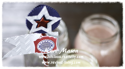 Smoothie Recipes For The 4th Of July And Stress Free Party Planning Tips Too! - visit www.1stclasscreativity.com