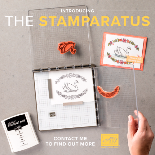 The Stamparatus is Coming! www.1stclasscreativity.com