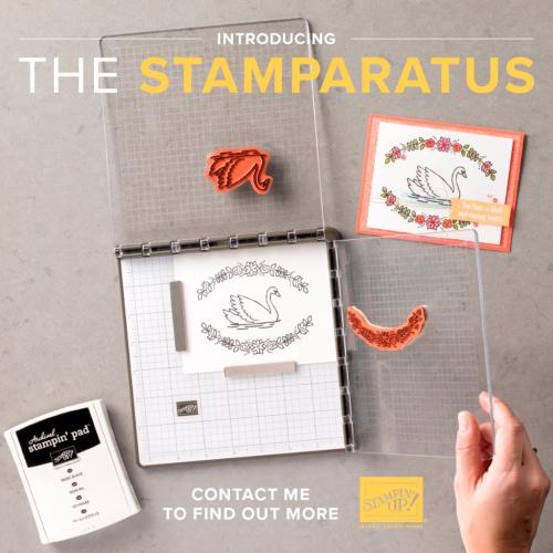 The Stamparatus is Coming! www.1stclasscreativity.com