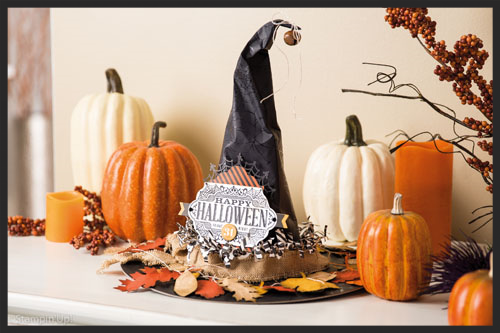 DIY Halloween Decor Witches Hat
