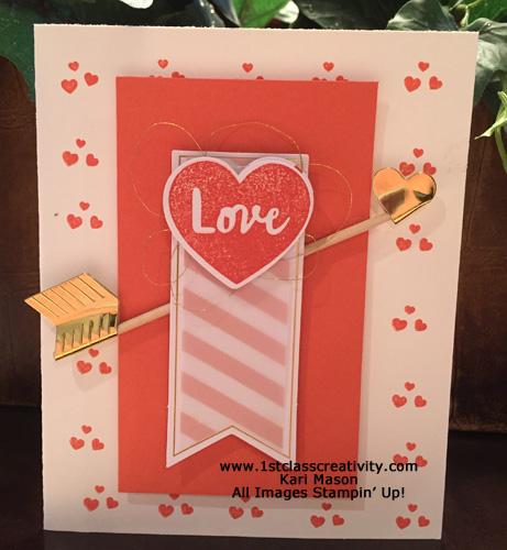 Paper pumpkin arrow card2