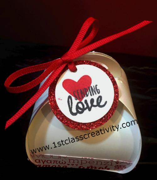Curvy Valentine Box www.1stclasscreativity.com